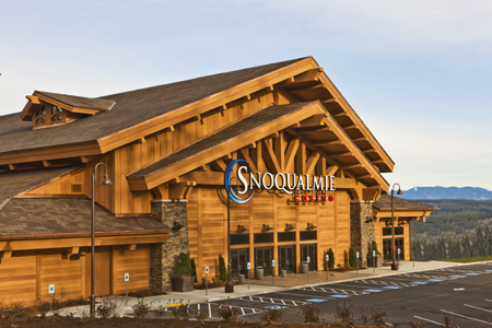 Snoqualmie Casino S Exterior Looks Like Red Cedar But Is