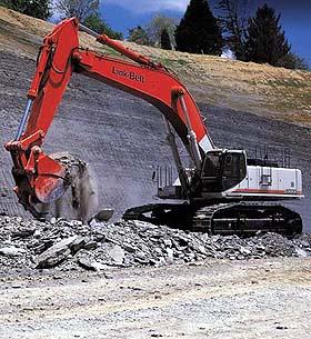 8000 Quantum hydraulic excavator