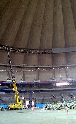 Kingdome roof