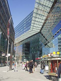 shopping mall and office in Berlin