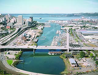 Thea Foss Waterway in Tacoma