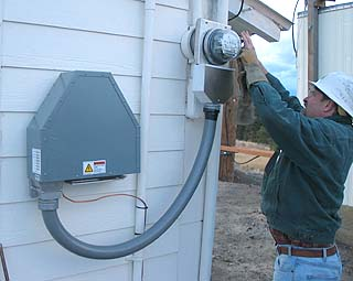 Utilities to study energy coming into homes