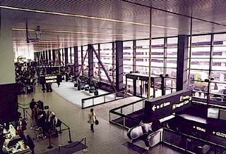 Sea-Tac Airport's main terminal