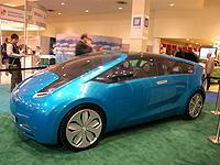 Toyota's Hybrid X concept car