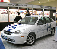 Ford Focus hydrogen fuel cell car