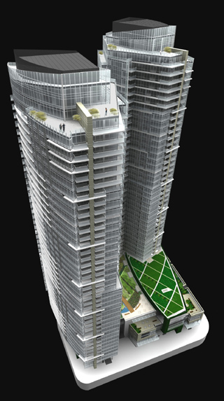 Bellevue Towers Is Expected To Achieve Leed Gold