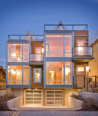 Photo by aaron leitz Contemporary housing