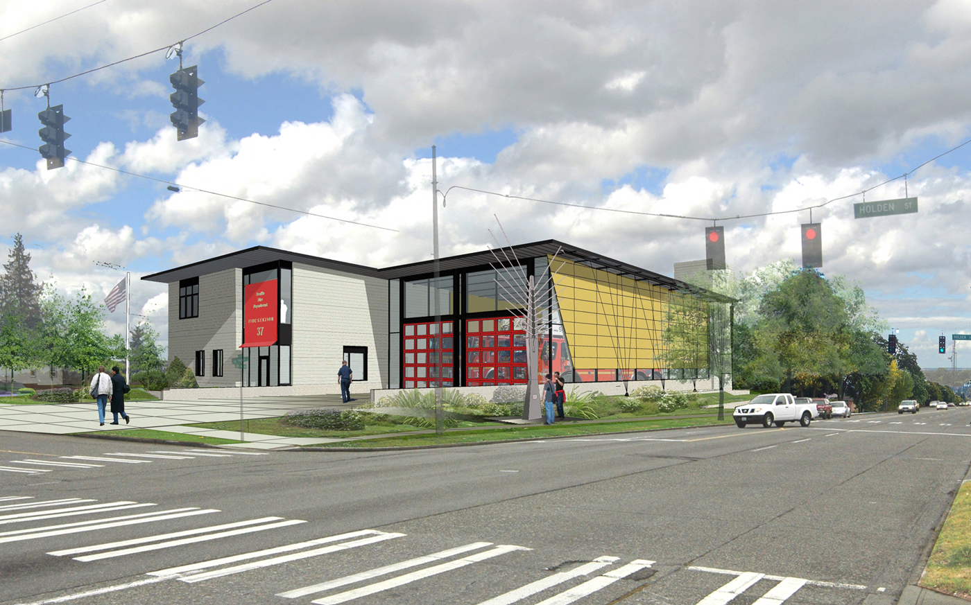 new fire station for west seattle