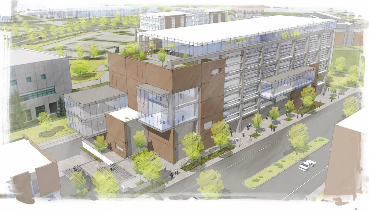 Seattle Local Business News And Data Construction Wsu Spokane Campus Planning A 44m