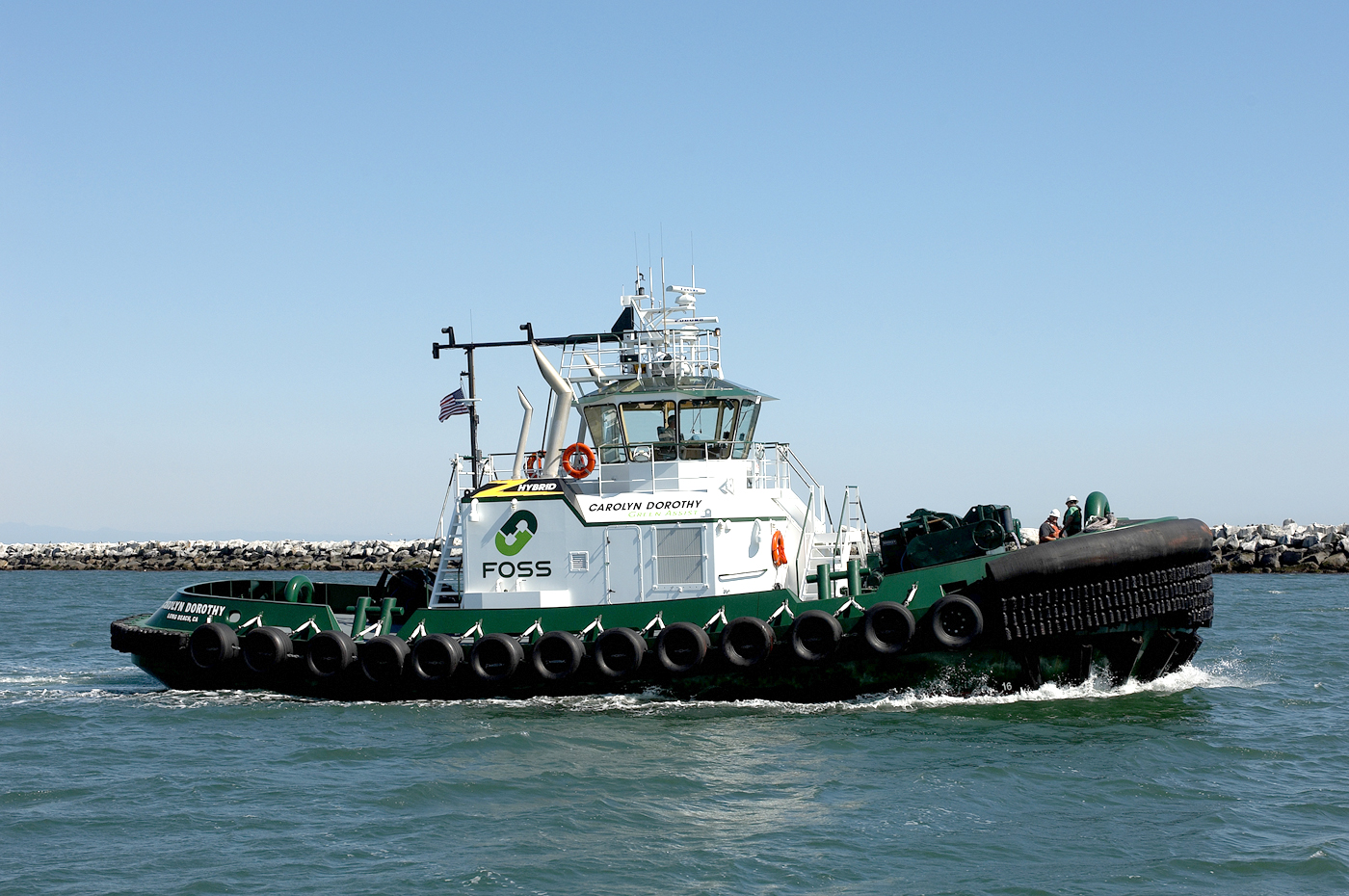 Seattle Djc Com Local Business News And Data Machinery Foss Maritime S Hybrid Tugboat To Get
