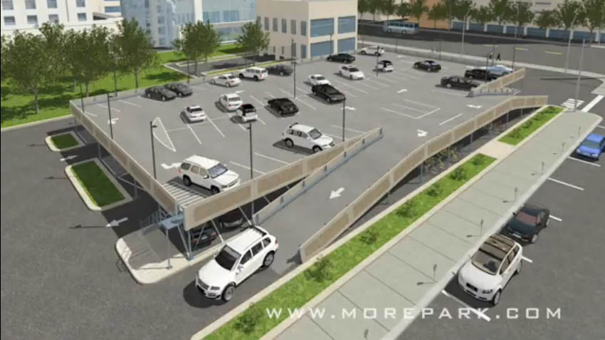 Movable Barrier For Car Park