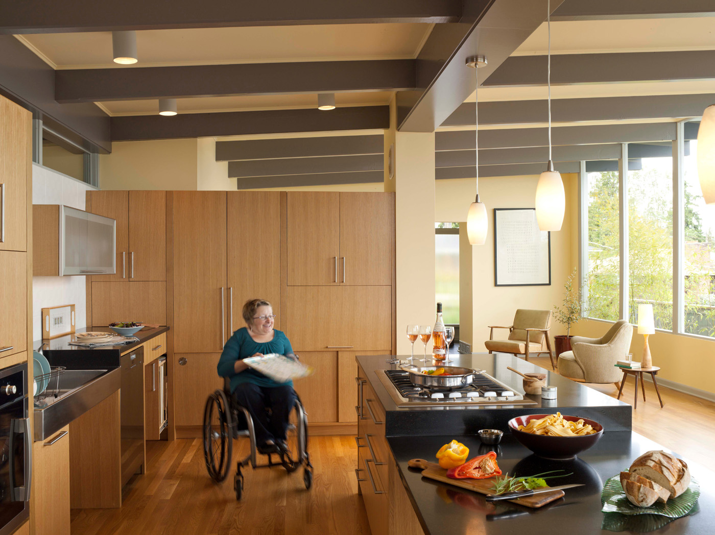 Seattle local business news and data Universal design home plans