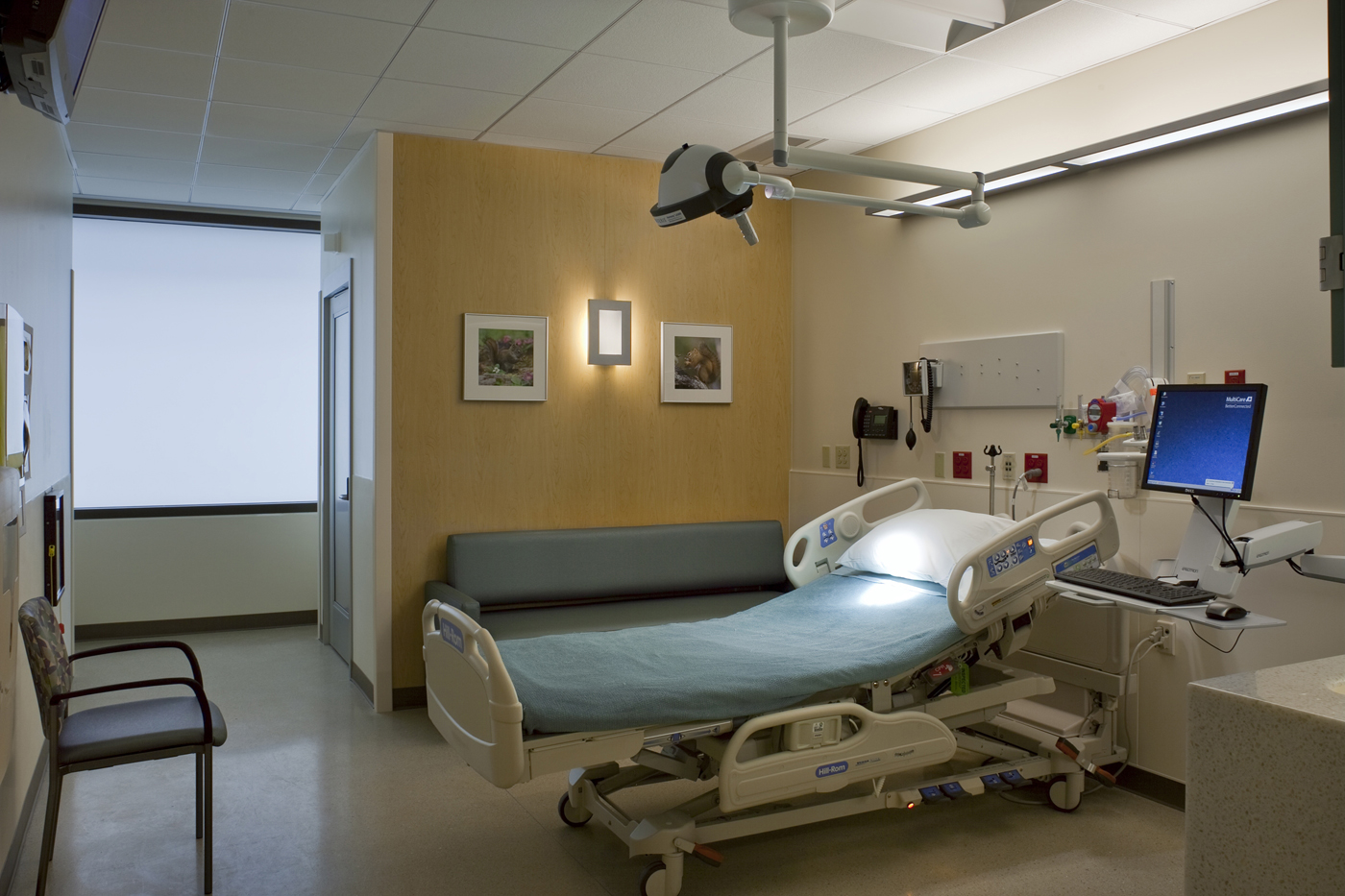 Semi Private Hospital Room
