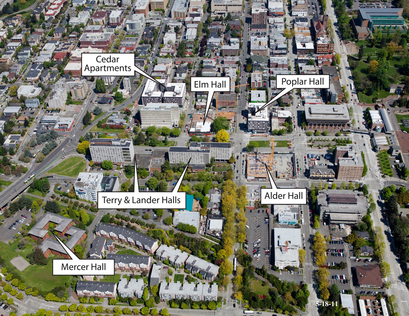 Seattle Djc Com Local Business News And Data Construction Uw Will Finish Two New Student