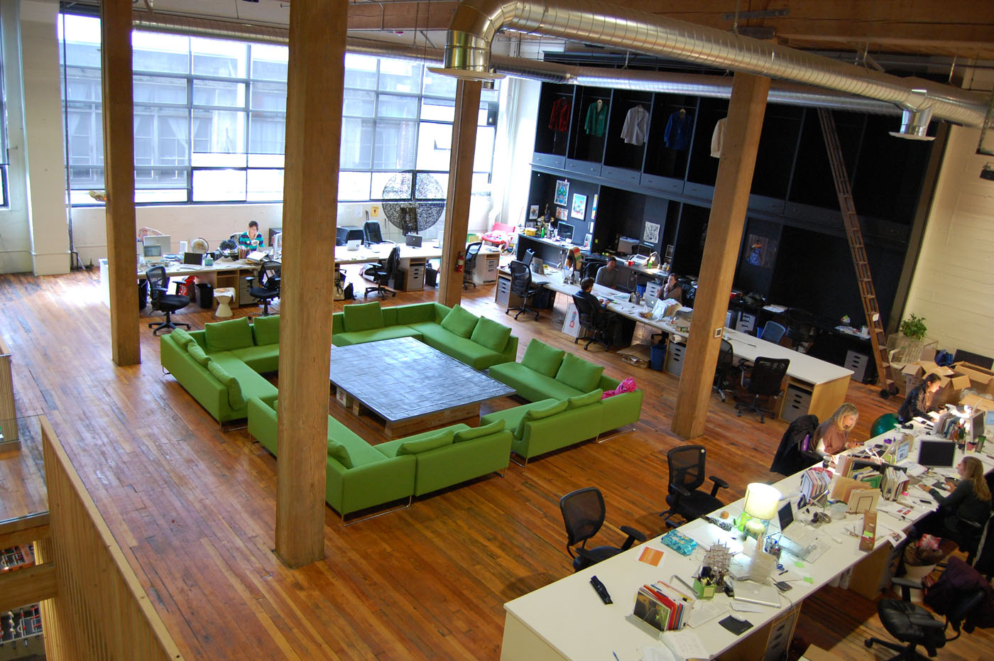 Seattle local business news and data real estate for Outer space office design