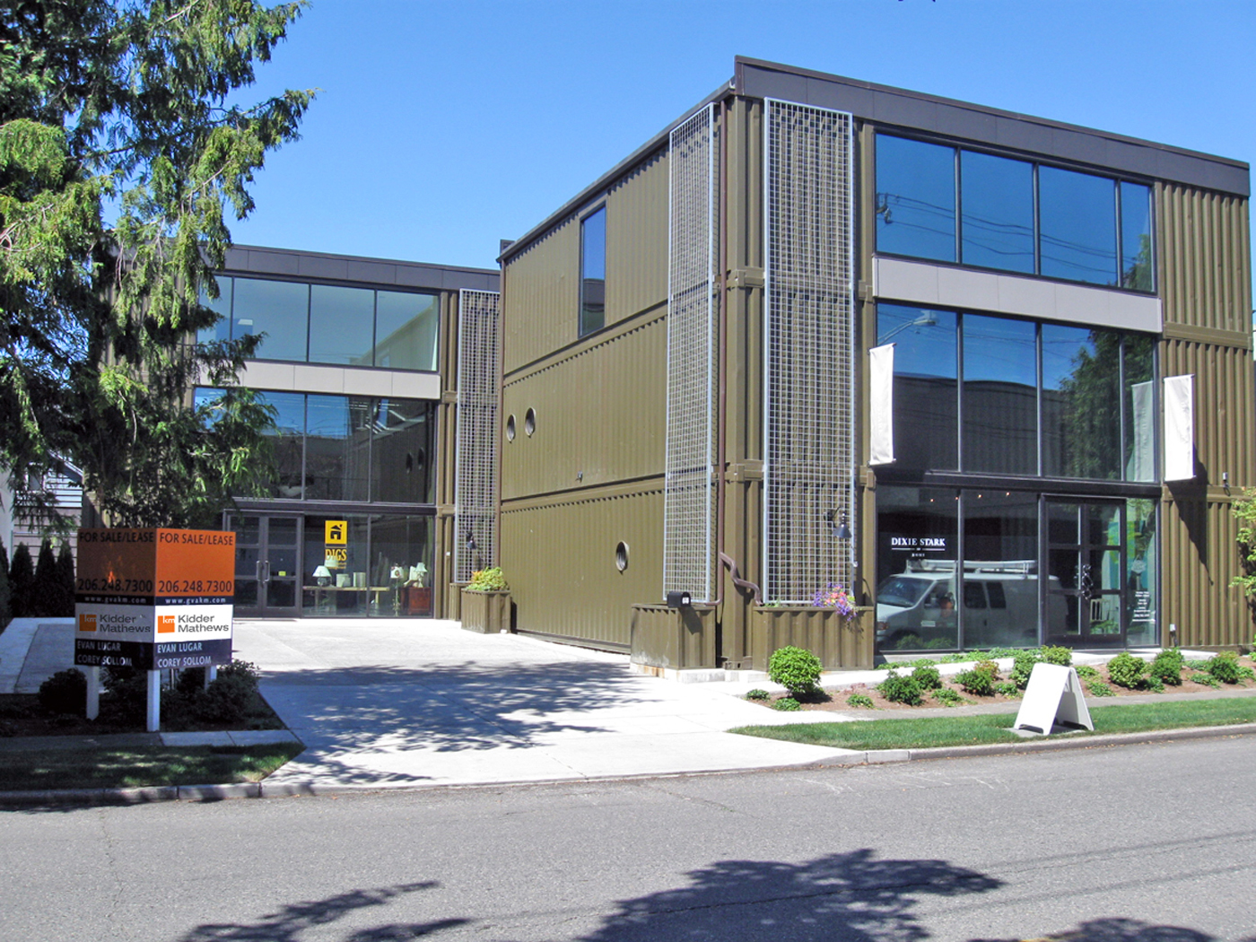 Seattle local business news and data real estate for Construction local commercial