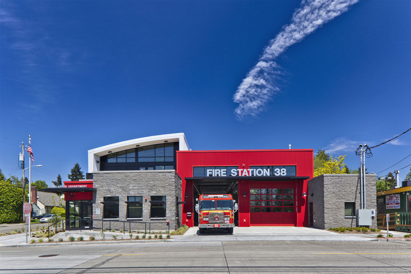 Seattle Djc Com Local Business News And Data Environment Fire Station 38 Wins Gold From Leed