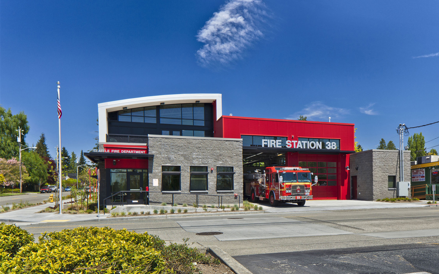 Seattle fire station no 35 shared by lion firehouse swagger pinterest fire seattle and interview