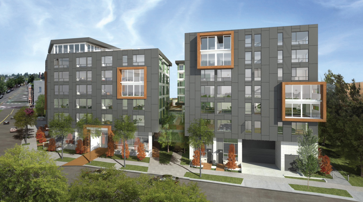 Seattle local business news and data real estate for New apartments