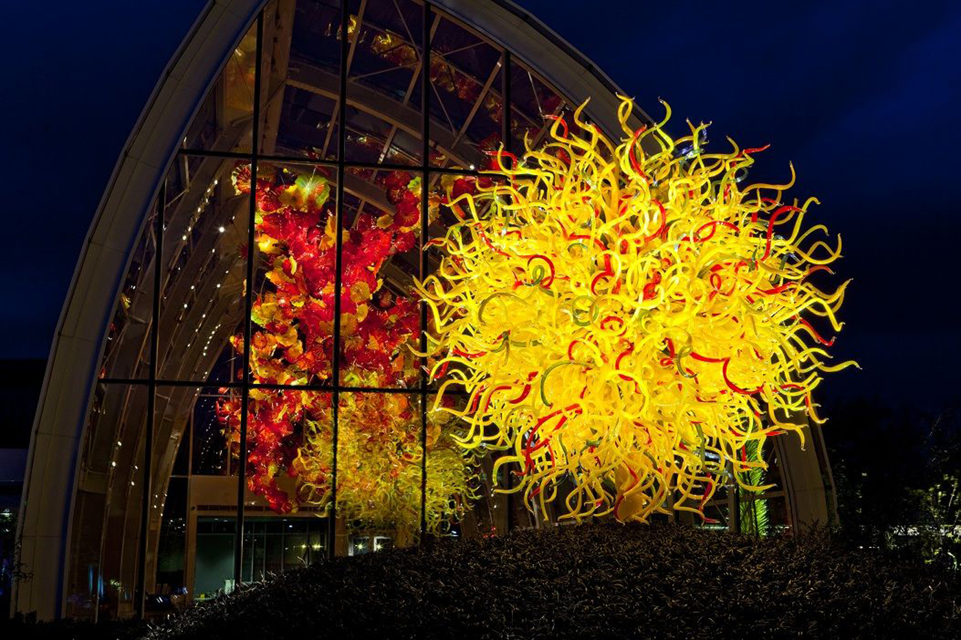Seattle Local Business News And Data Construction Chihuly Garden And Glass Exhibition