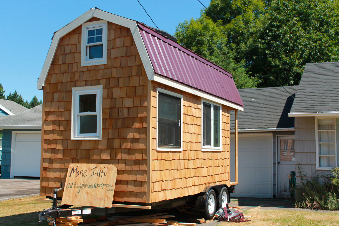 Tiny house on wheels for sale on craigslist for Little house