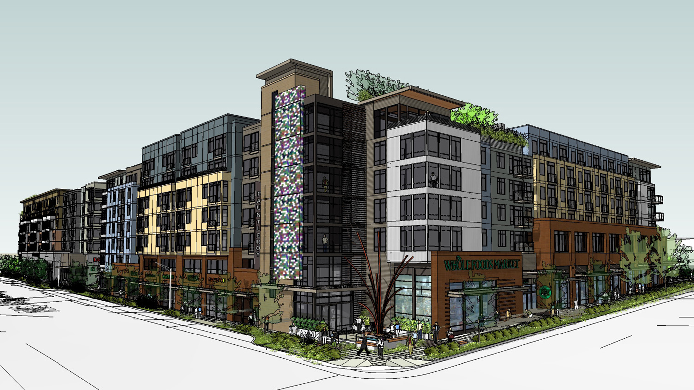 Seattle Djc Com Local Business News And Data Real Estate Two Mixed Use Buildings Set For