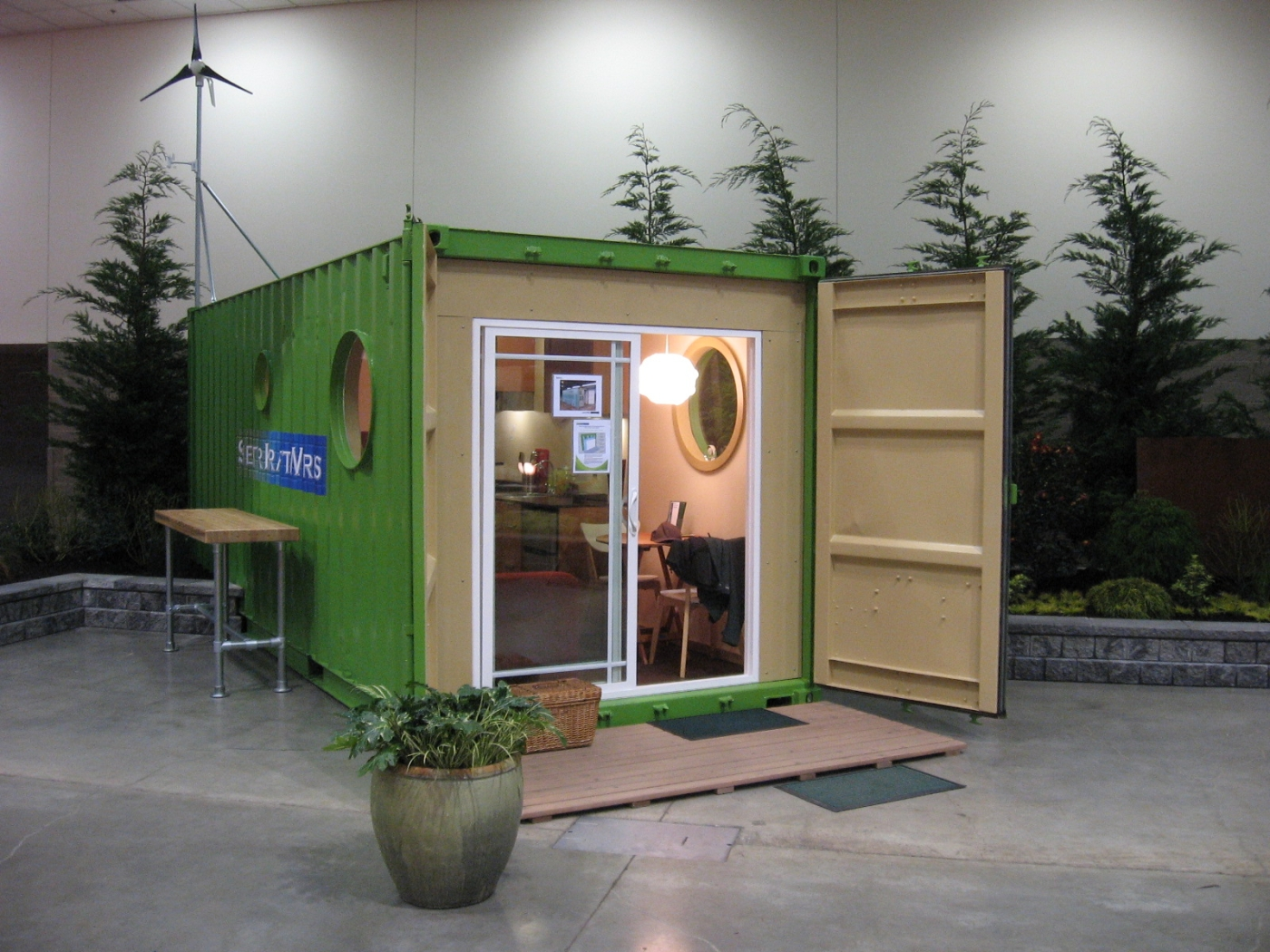 Seattle local business news and data construction seattle company uses cargo - Containers for homes ...