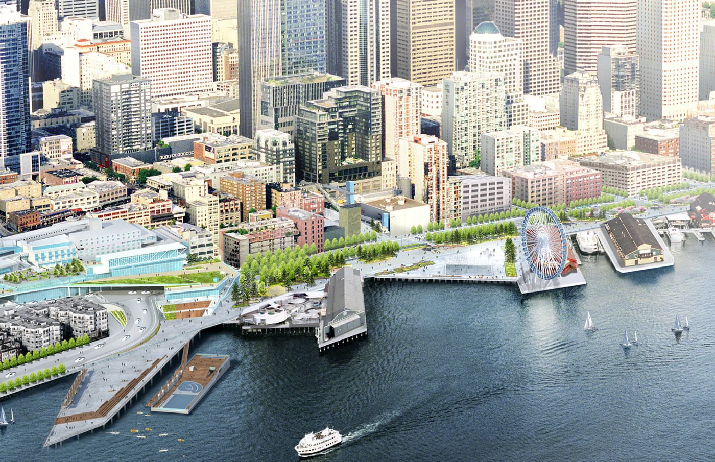 Seattle Waterfront Development News And Photos Page 39