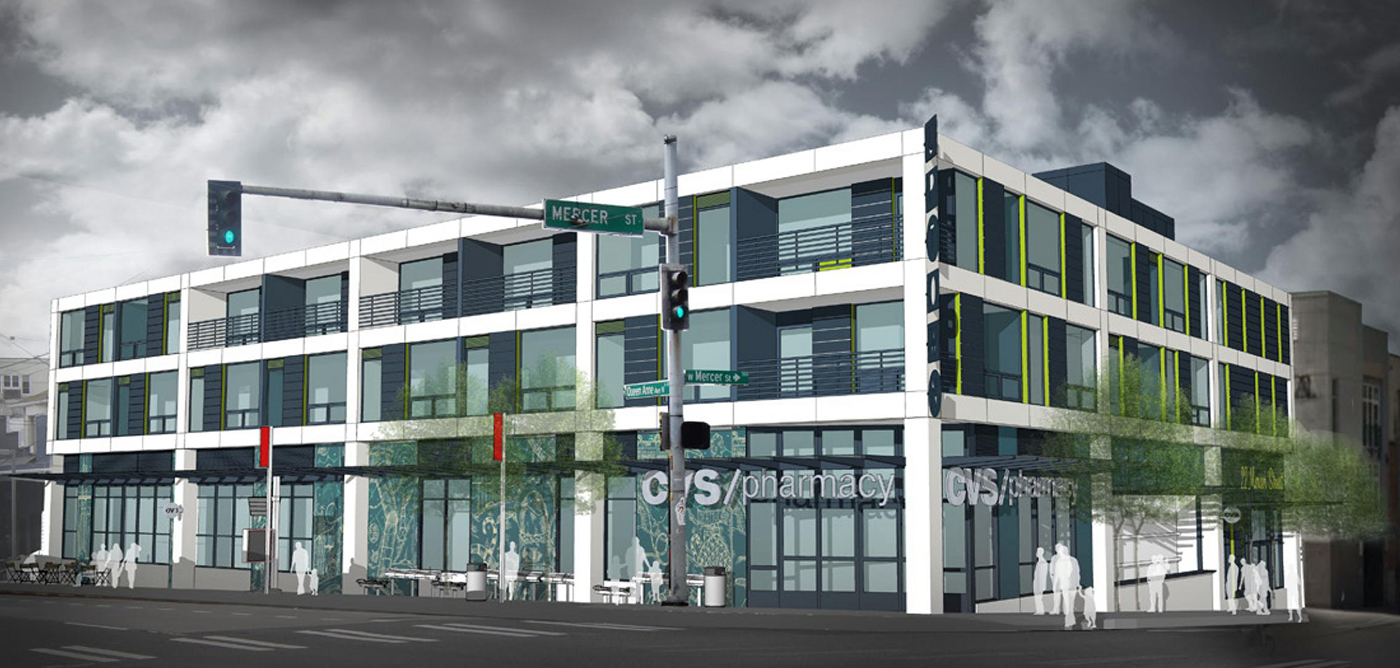 Seattle local business news and data real estate for Store building design