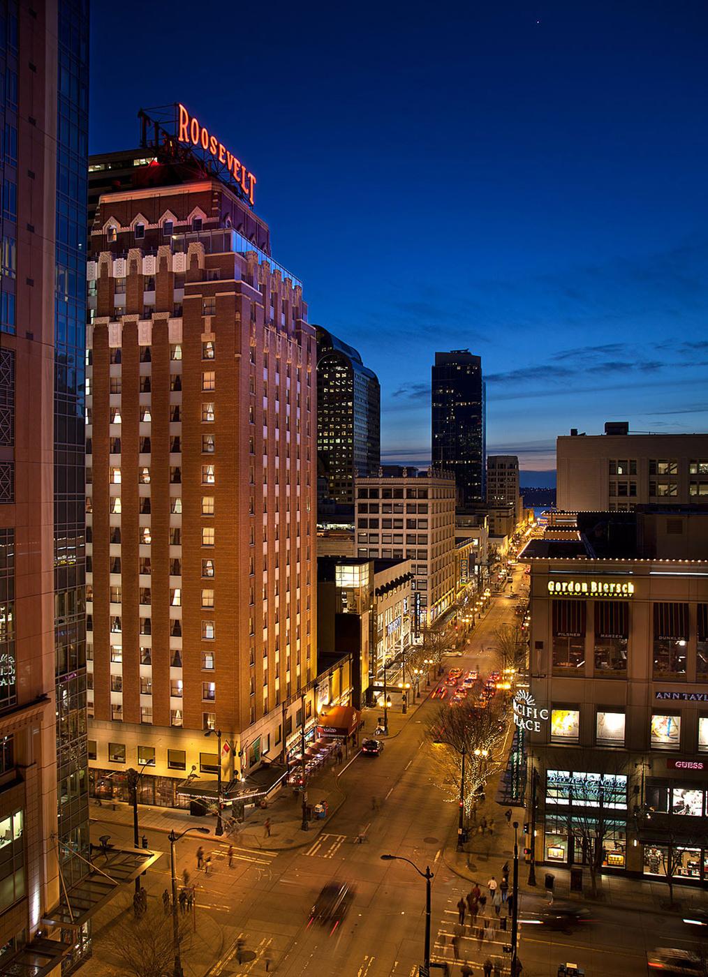 Roosevelt Hotel Seattle Restaurant