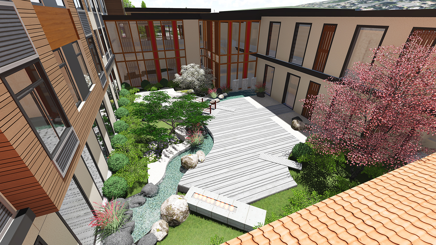 Seattle local business news and data real estate aegis gardens will offer chinese for Washington gardens memory care