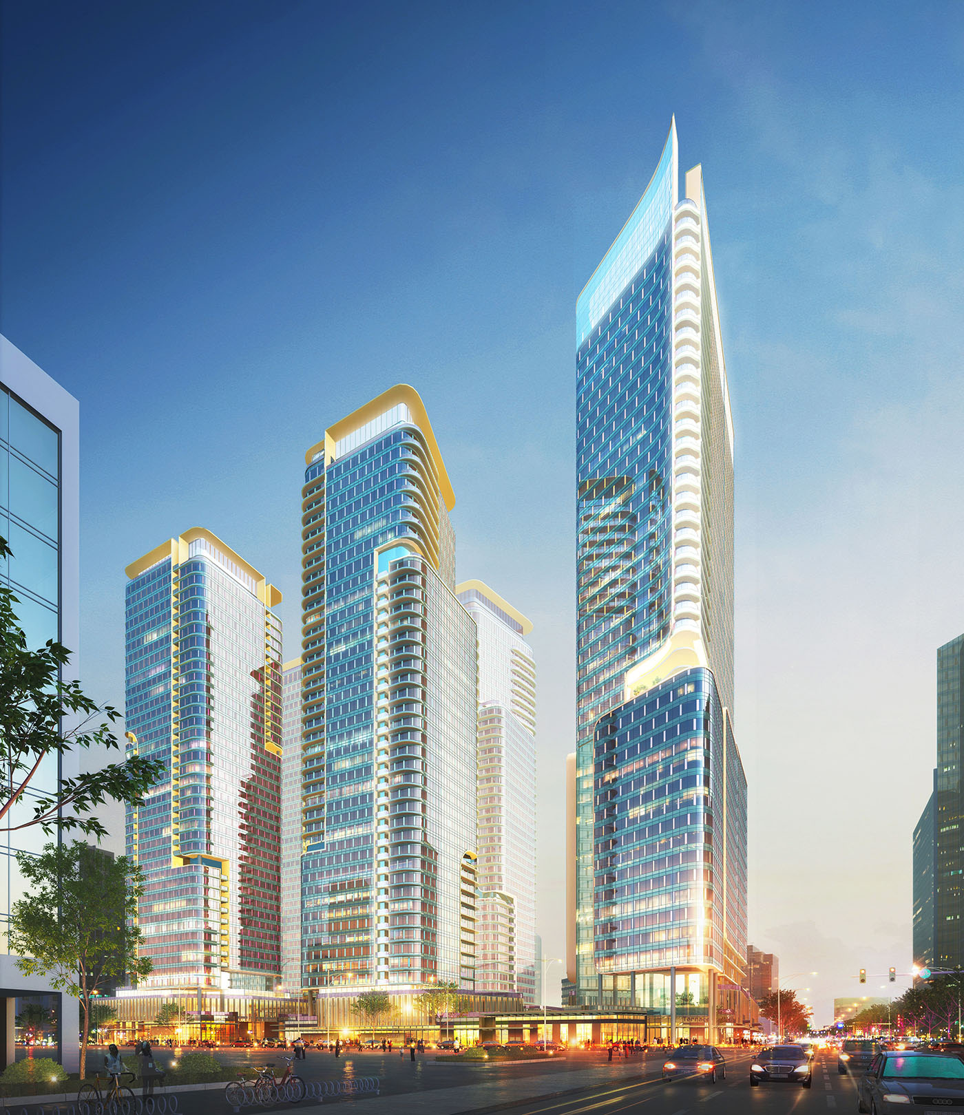 Plus Investment USA could start next summer on the first two towers in ...