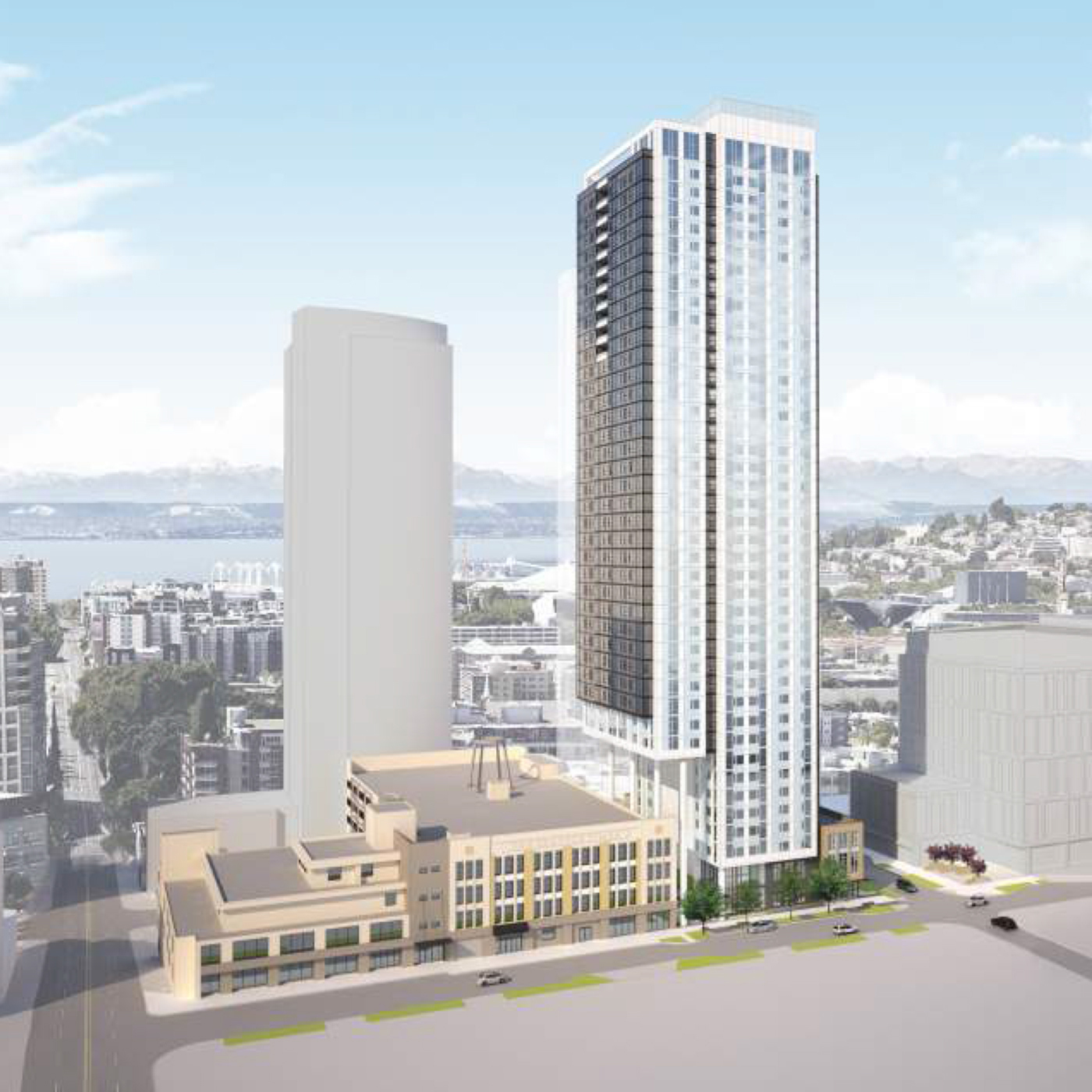 Dual 24 Story Apartment Towers Debut At 8th Spring: Seattle DJC.com Local Business News And Data