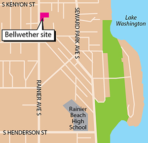 Two Years Ago, Bellwether Housing Completed Assembling A Two Acre Site At  7930 Rainier Ave. S. It Had Bought The Smaller, Vacant South Portion In  2007 For ...